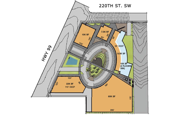 Edmonds Green Ground Floor Site Plan